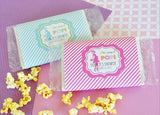 """She's going to POP"" Microwave Popcorn Bags-Jubilee Favors"
