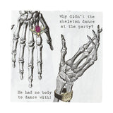 Skeleton Crew Napkins-Jubilee Favors