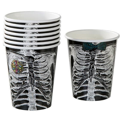 Skeleton Crew Paper Cups-Jubilee Favors