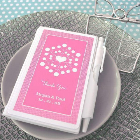 """Snowy Notes"" Notebook Favors-Jubilee Favors"