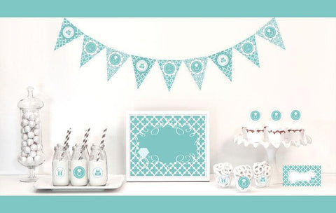 Something Blue Decorations Starter Kit-Jubilee Favors