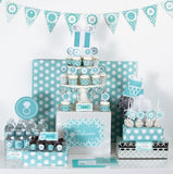 Something Blue Mod Party Kit-Jubilee Favors