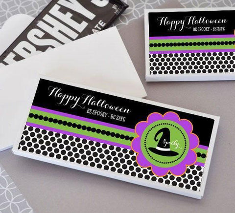 Spooky Halloween Personalized Candy Wrapper Covers-Jubilee Favors