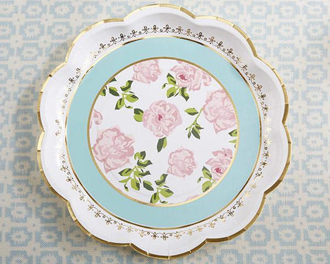 Tea Time Whimsy Paper Plates (Set of 8) for $ 3.99 at Jubilee Favors