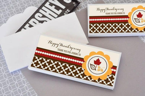 Thanksgiving Candy Wrapper Covers for $ 1.10 at Jubilee Favors