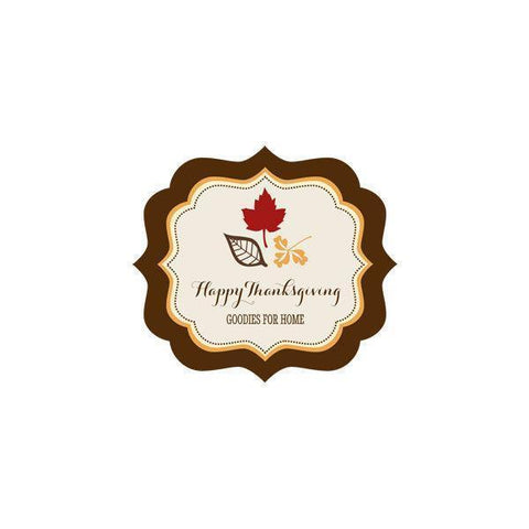 Thanksgiving Personalized Frame Labels-Jubilee Favors