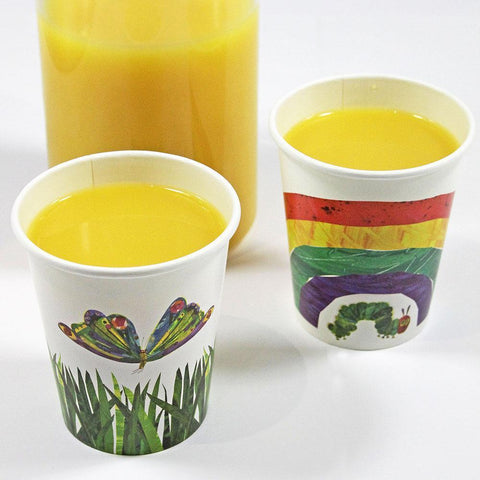 The Very Hungry Caterpillar paper cups-Jubilee Favors