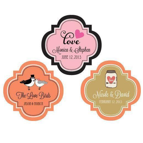"Theme 1.5"" Personalized Mini Favor Labels-Jubilee Favors"