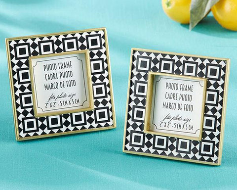 Tropical Chic Tile Patterned Frame-Jubilee Favors