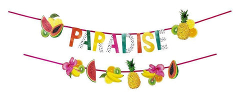 Tropical Fiesta Double Fruit Garland-Jubilee Favors