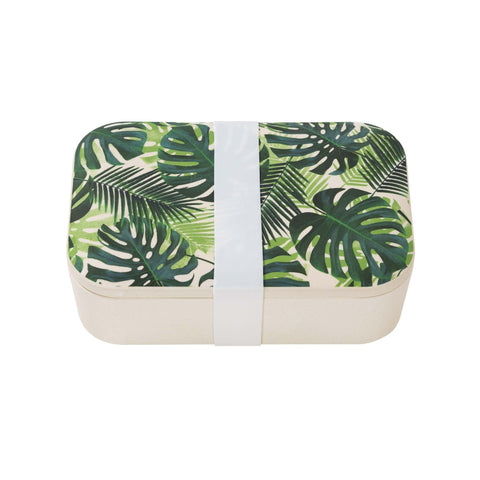 Tropical Fiesta Palm Print Lunch Box-Jubilee Favors
