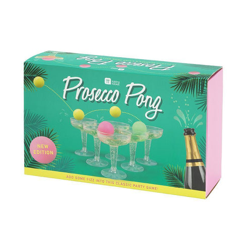 Tropical Prosecco Pong-Jubilee Favors
