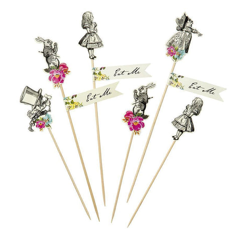 Truly Alice Mad Party Picks-Jubilee Favors