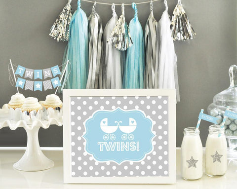 Typography Baby Shower Sign-Jubilee Favors