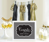 Typography Wedding Sign-Jubilee Favors