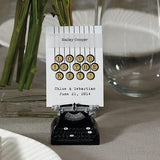 Vintage Typewriter Card Holder (Set of 6)-Jubilee Favors