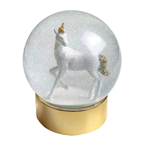 We Heart ♥ Unicorn Snow Globe for $ 19.99 at Jubilee Favors