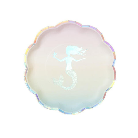 We ♥ Mermaids Paper Plates-Jubilee Favors