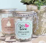 Wedding Theme Personazlied Mini Mason Jars-Jubilee Favors