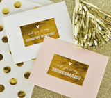 Will you be my...? Labels (set of 9 labels)-Jubilee Favors