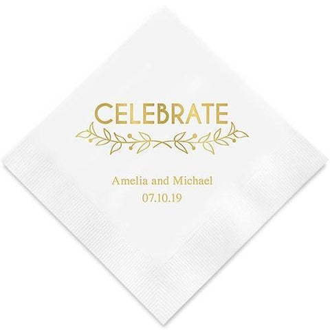Woodland Pretty Celebrate Paper Napkins-Jubilee Favors