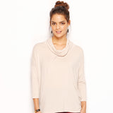 ROMANCIA ROLL NECK TOP