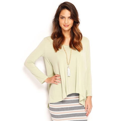 SIENNA CAPE BACK - LS