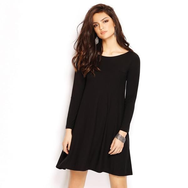 SWING DRESS LS