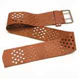 LEATHER BELT W/HOLES