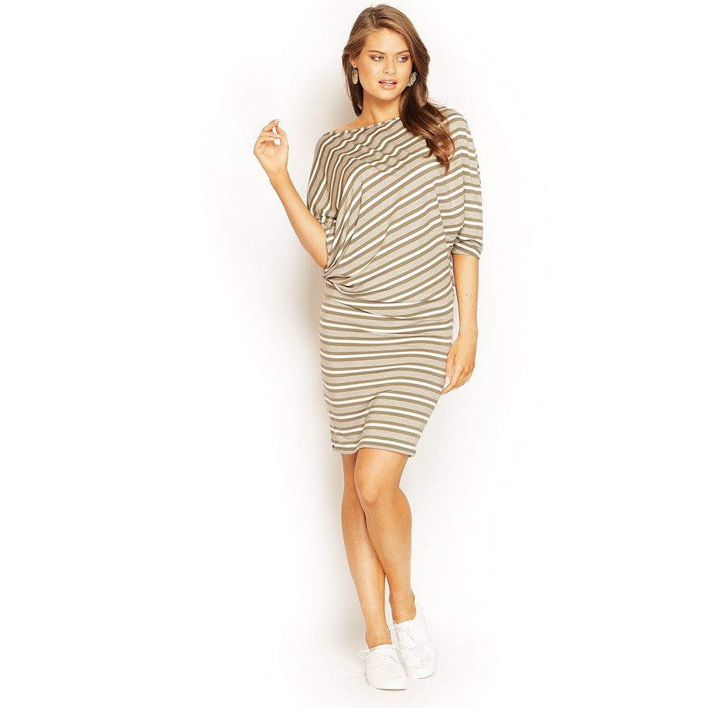 MORGAN DRESS STRIPE