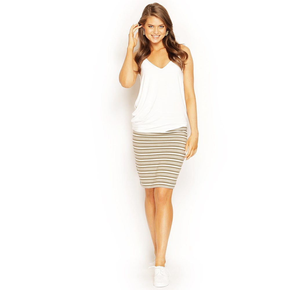 SHORT SKIRT STRIPED