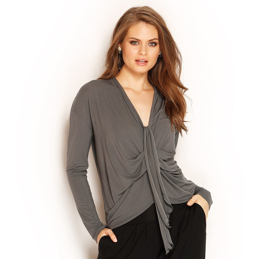 ZADA LONG SLEEVE TOP - MICRO