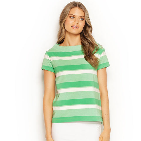 FRENCHIE TOP STRIPED