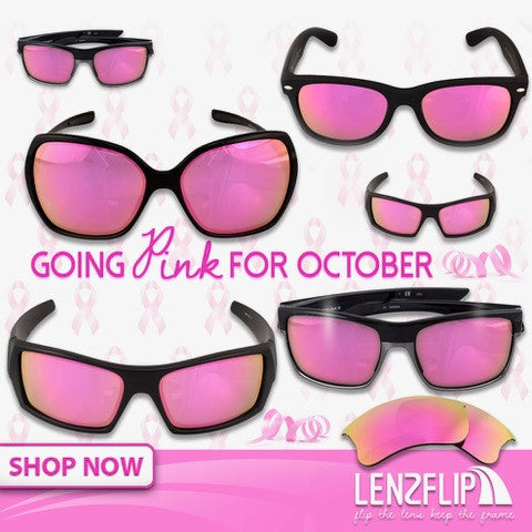 Going Pink for October - Breast Cancer Awareness Month