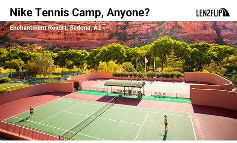 Tennis in Red Rocks at Enchantment Resort