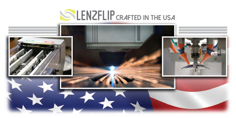 LenzFlip Replacements Lenses Crafted in the USA