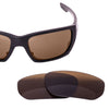 StyleSwitch Brown Polarized replacement lenses for Oakley