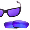 Oakley Style Switch Polarized Lenses with Blue Mirror