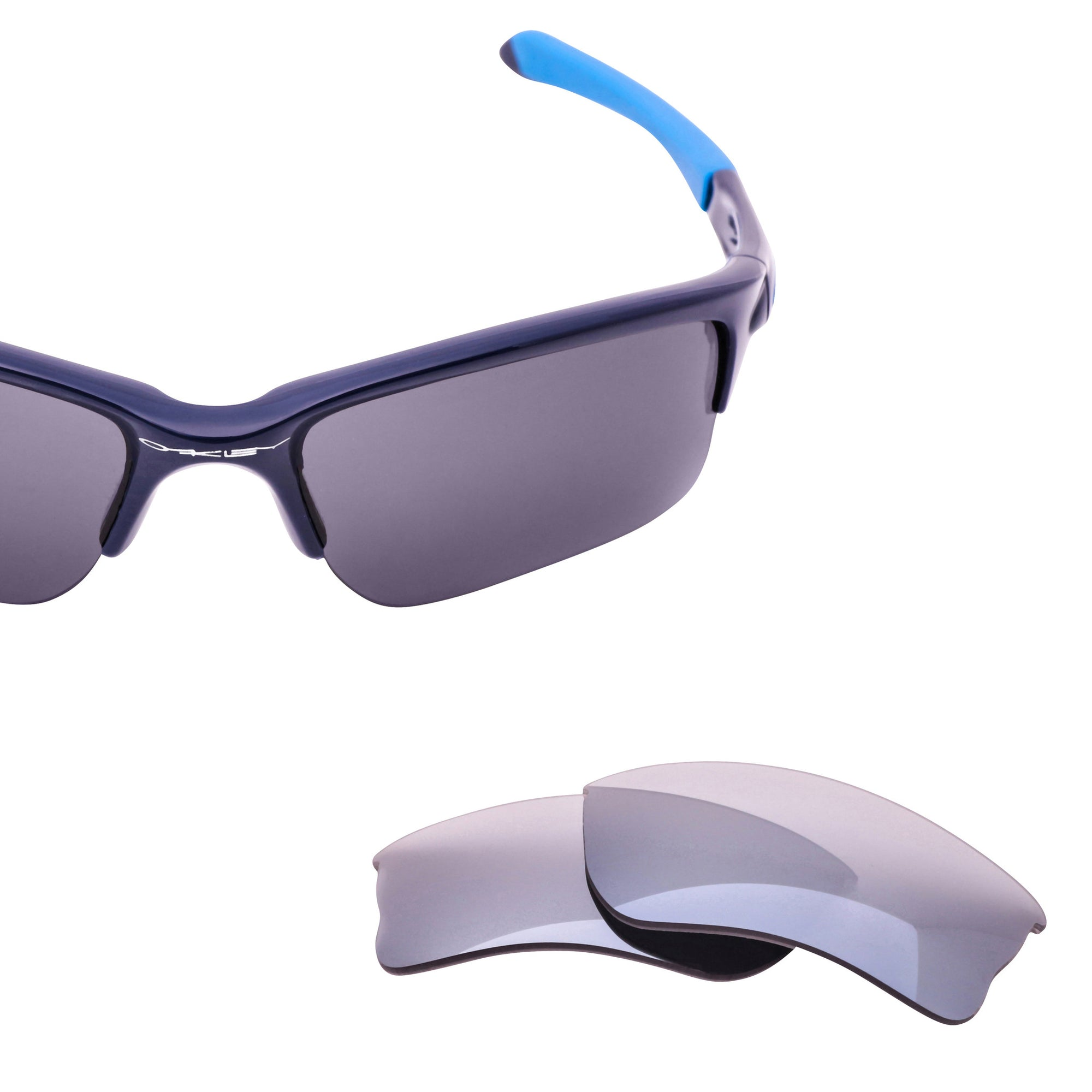 83ee709c88 Replacement lenses Smoked with Silver Mirror. Oakley Quarter Jacket