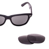 Ray-ban replacement polarized lens- grey