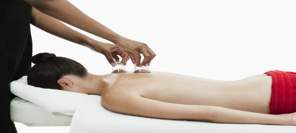 Cupping therapy for cellulite treamtnet of the body