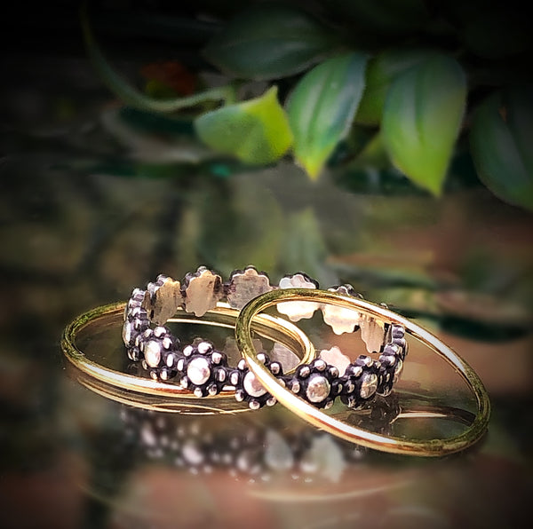 Flower Stacker Ring