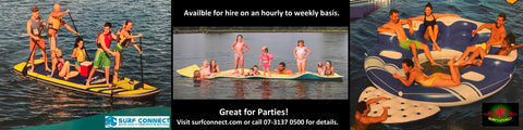 Party hire available from hourly to weekly.