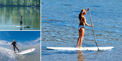 Standup Paddleboard One Hour Lesson Group Lesson Voucher $75