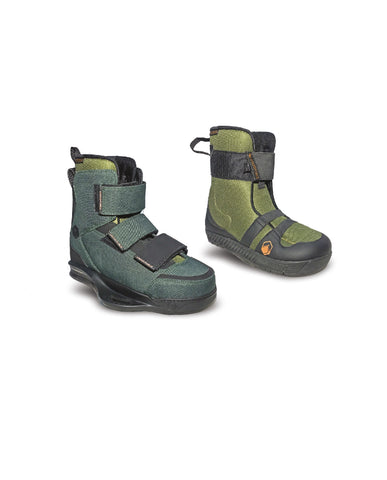 Liquid Force 2020 Hiker Bindings Army Green Sz 8-10