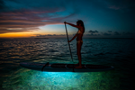 Waterproof LED systems for SUPs, Kayaks, Wind & Kiteboards