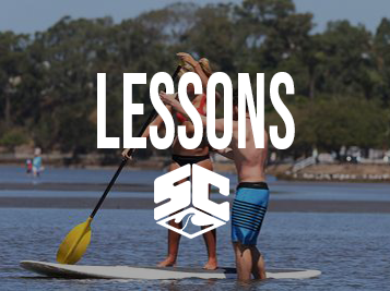 Standup Paddle Lesson