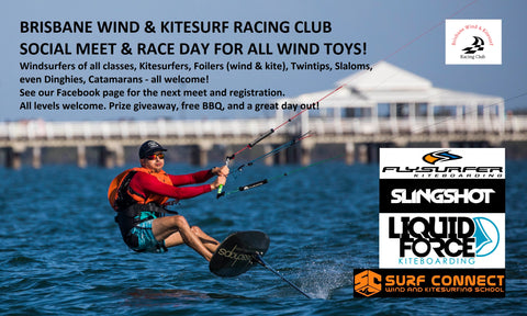 Brisbane Wind & Kitesurf Social Race Entry