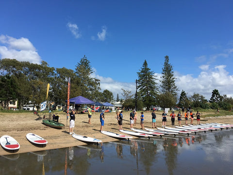 SUP Club meet/Workout Classes