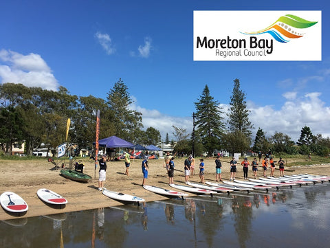Stand up Paddle Boarding Moreton Bay Regional Council SUP MBRC